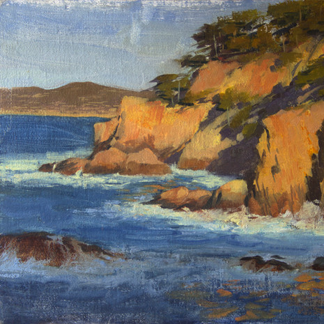 Cypress Cove Cliffs at Pt. Lobos - 8 x 10""
