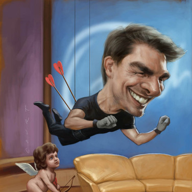 Tom Cruise on Oprah's Couch