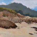 """Carmel Cove with Point Lobos - 9 x 12"""""""