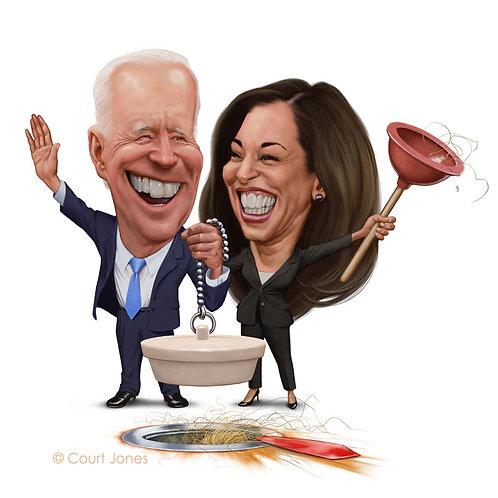 Biden / Harris print
