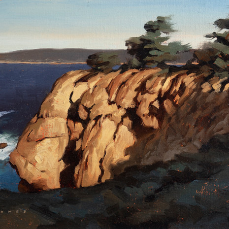 Point Lobos North Inlet - 9 x 12""