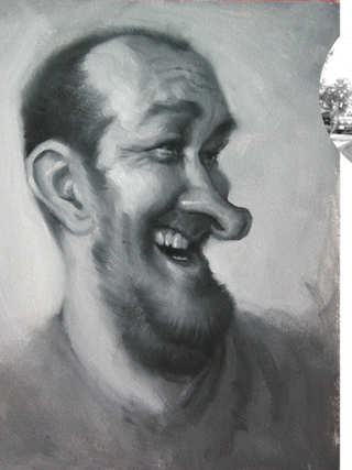 Dan Oil Painting