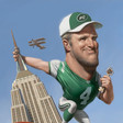 Brett Favre Takes New York