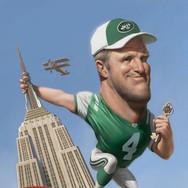 Brett Favre Takes New York