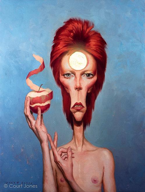 Ziggy Stardust oil on canvas