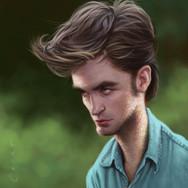 Robert Pattinson Sparkly