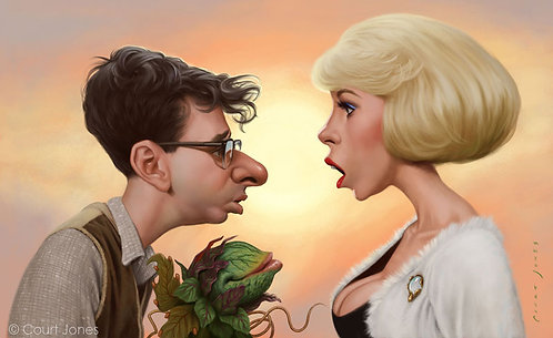 Seymour and Audrey print