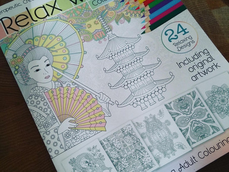 24 coloring pages in 31 days
