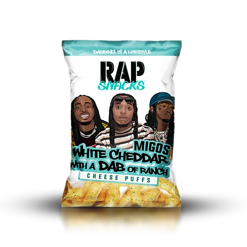 Migos White Cheddar with a Dab of Ranch