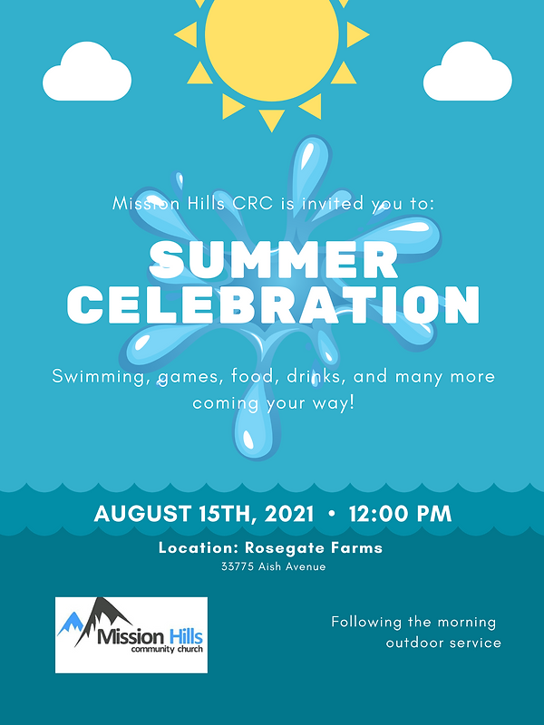 Blue with Water and Sun Graphic Block Party Poster.png