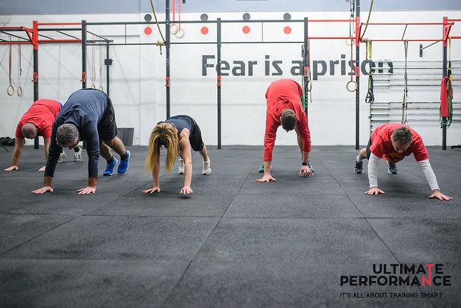 Ultimate Performance Gym Logo - Mesek Mi