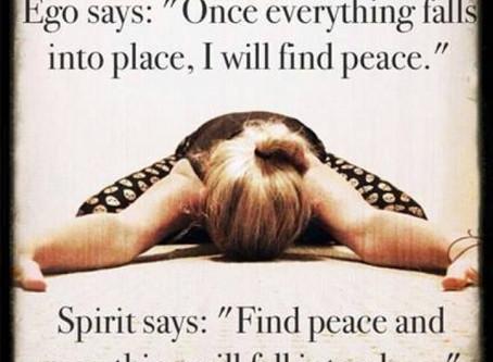 Ik voel innerlijke rust..............