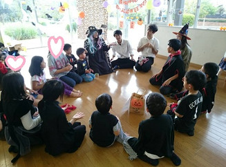 Our Halloween Party was so much fun!毎年恒例ゆらりっこのハロパ!