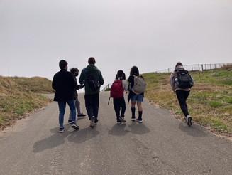 大島最高!ゆらりっこ春のアウトドアアクティビティ第一弾は大島遠足!