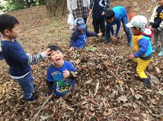 Children Enjoy the Autumn Season! Part 2 秋を楽しむ