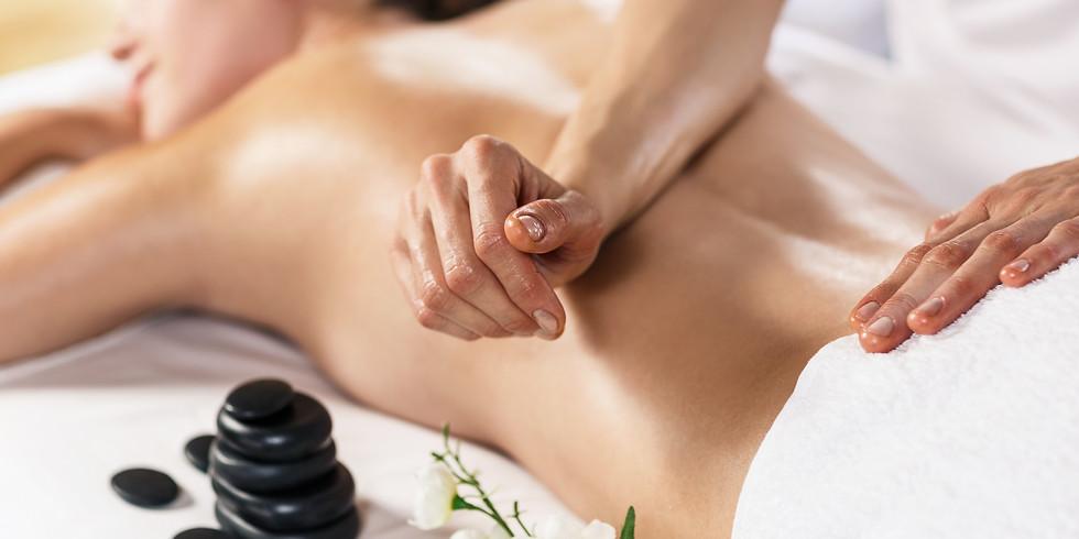 Rückenmassage Intensiv