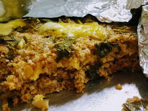 Kibe sem carne, com abóbora e queijo mineiro
