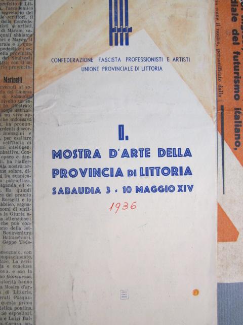 Sabaudia 3 - 10 maggio 1936