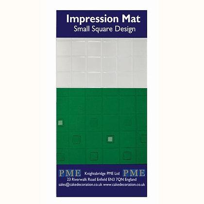 PME Prägematte -Small Square Design-