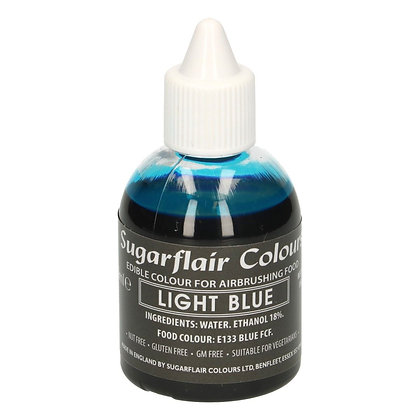 Sugarflair Airbrush Colour -Light Blue- 60ml