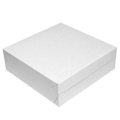 Tortenkarton Quadrat weiß
