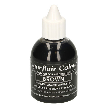 Sugarflair Airbrush Colour -Brown- 60ml