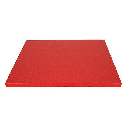 FunCakes Cake Board Quadrat 30,5cm -Rot-