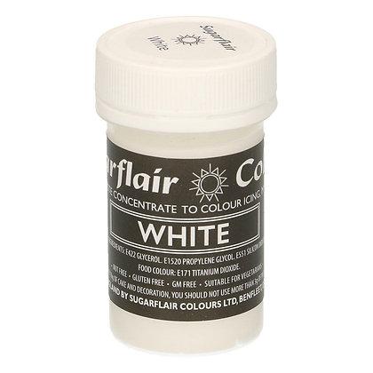 Sugarflair Pastenfarbe -Weiß- 25G