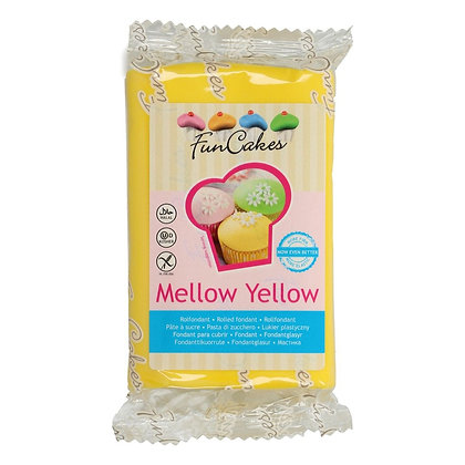 FunCakes Fondant -Mellow Yellow- 250g