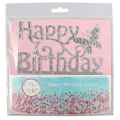 Happy Birthday Cake Topper Cakestar