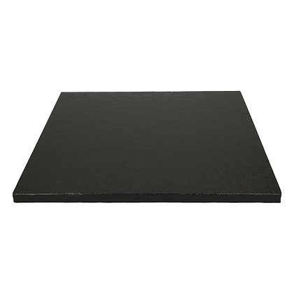 Funcakes Cake Board Quadrat 30,5cm -Schwarz-