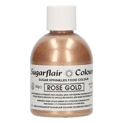 Sugarflair Sugar Streusel - Rose Gold - 100 g