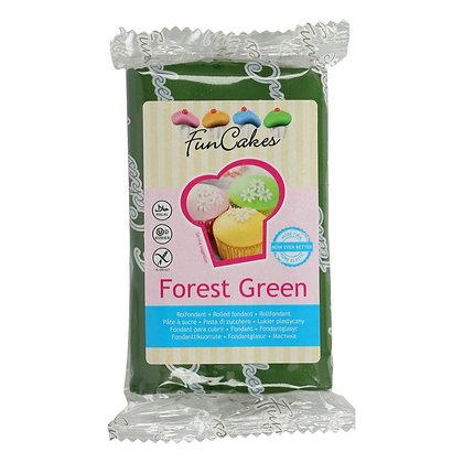 FunCakes Fondant -Forest Green- 250g