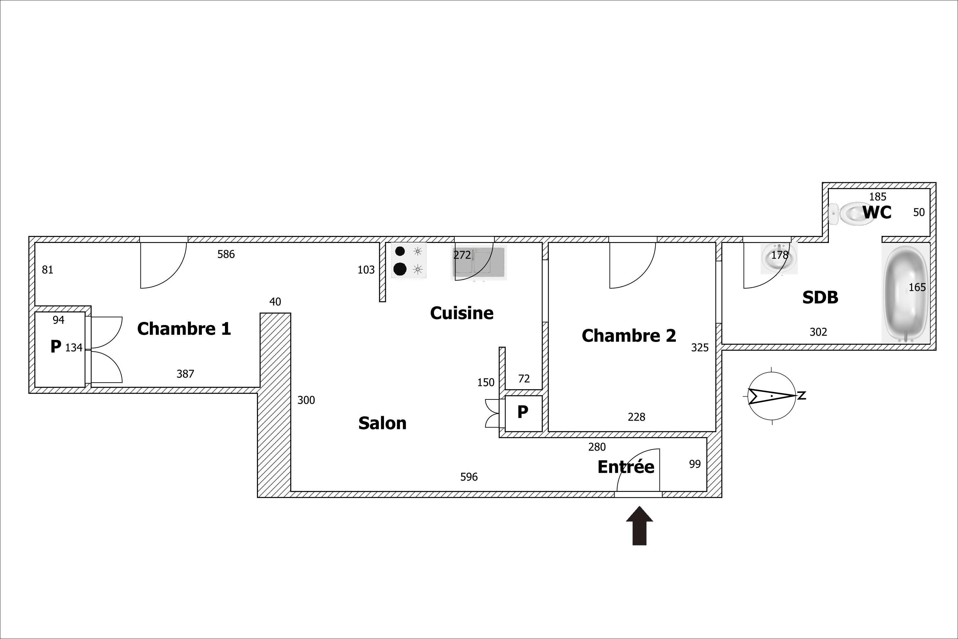 Vente 3 pièces 44 m2 75007 Paris