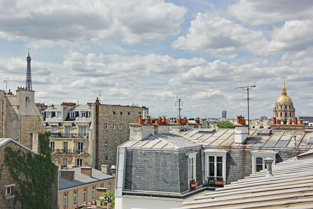 Agence-Leroy-Vente-2-Pièces-Terrasse-Dernier-Etage-Vues-Dégagées-Bon-Marché-75007-Paris-photo-4