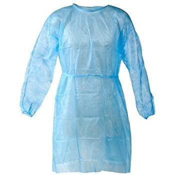 isolated disposable gown/ level1 /25 grams /PP+PE surgical gown/ disposable/ lev