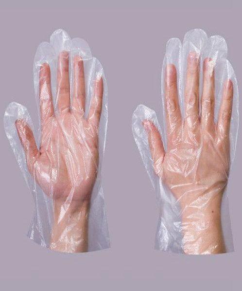 medical glove/  polyethylene/ disposable/ non sterile