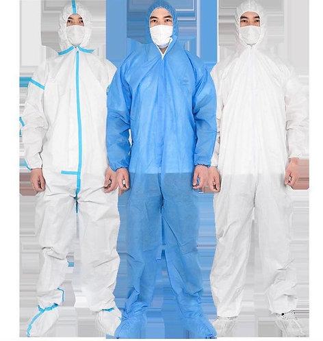 protective coverall / unisex / disposable / non-woven