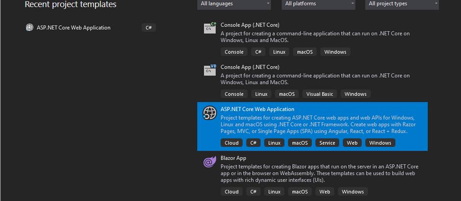 App Settings file according to environment variable - DotNet Core API