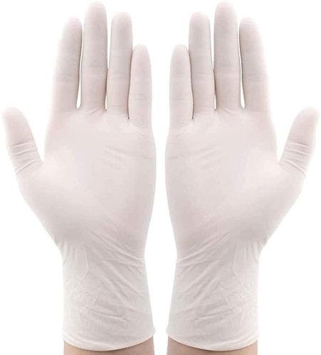 latex examination glove / disposable/ non sterile / powder free