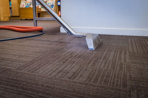 Steam Carpet Cleaning at a School - Prof