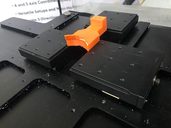 Set up existing parts using fixturing parts