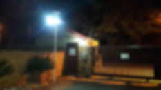 100W Solar Light at Sunset Tarrace by So