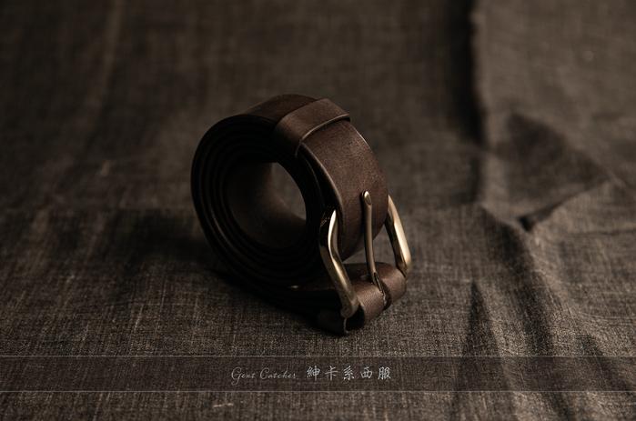 純手工植鞣革皮帶