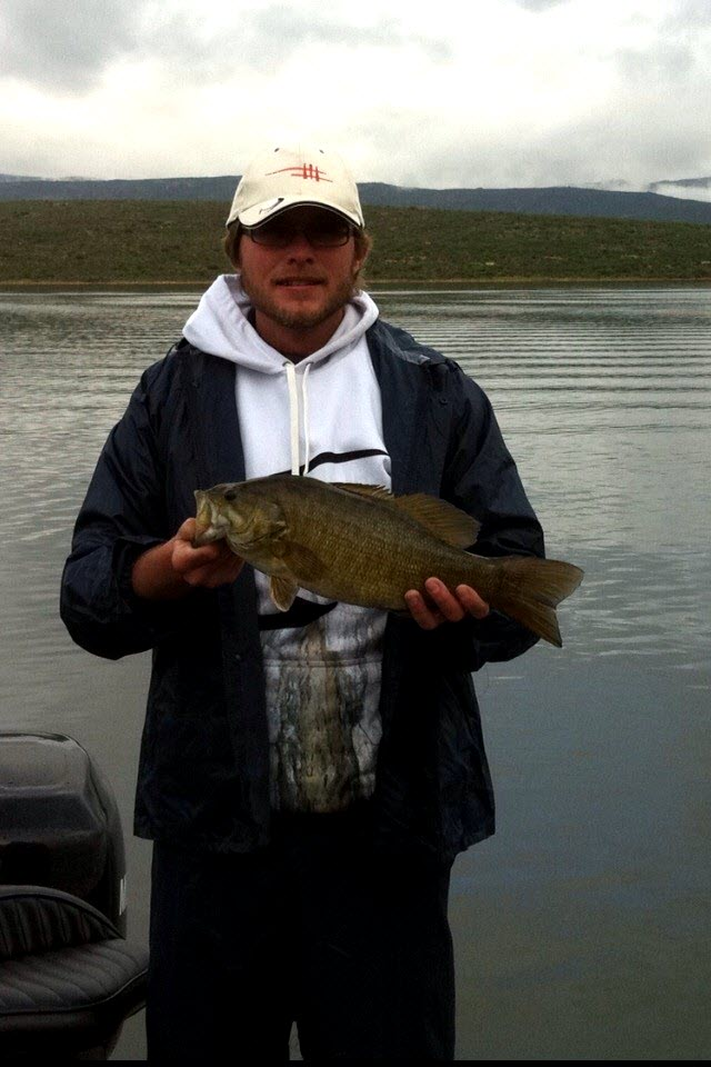 Thinus William with a good Smallmouth Bass