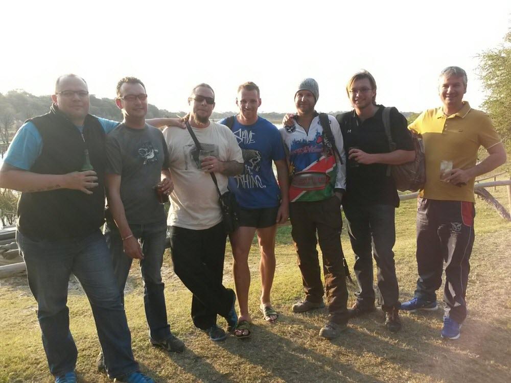 Team Spirit - Maun in Botswana