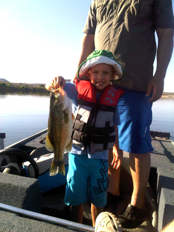Family Bassing - Henry Grant with his 1st Bass.jpg