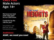 Spa Theatre Juniors seek male talent!
