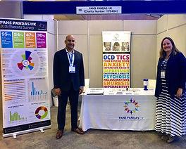 Tracy and Rahul at RCPCH conference May