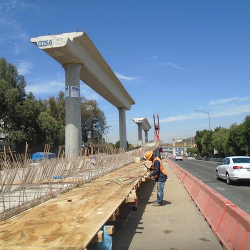 """Viaducto elevado San Fernando, """"El Caminero"""""""